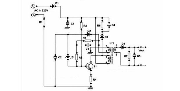 Skema elektronika charger HP